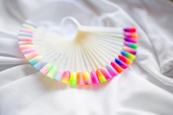 Przykłady kolorów paznokci 4
