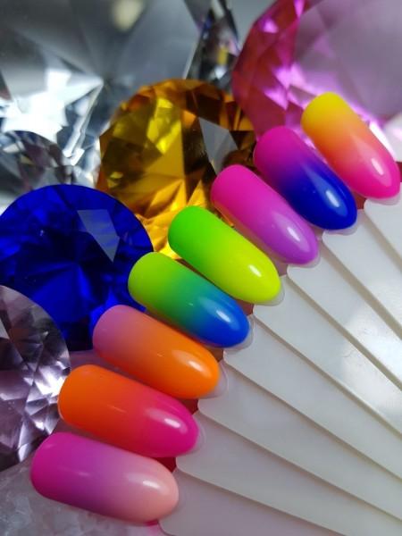Przykłady kolorów paznokci